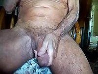 Old Amateur Wanking On Cam