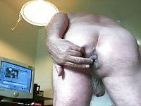 Old Gay Amateur Butt Stuffing