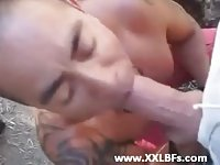 Sucking Dick Outdoor