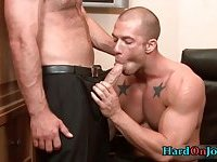 Two hot guys fucking ass and sucking cock 2