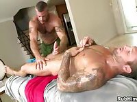 Horny Masseur Fucking His Client