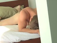 Sexy Boy Whacking Off At Home