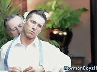 Muscly mormon gets groped