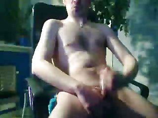 Amateur Thug Beating Off On Cam
