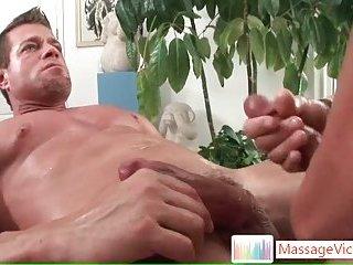 Camdem blasting his load