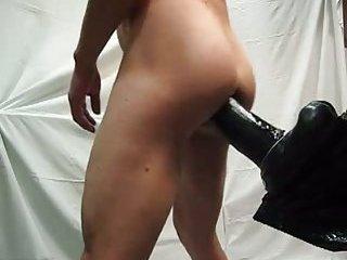 My ass full of dildo with my cum