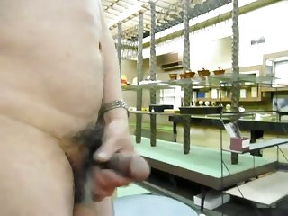 East Japan earthquake damage & masturbation in my store