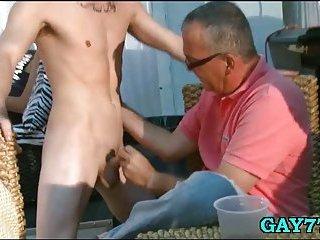 Fucking his tight ass