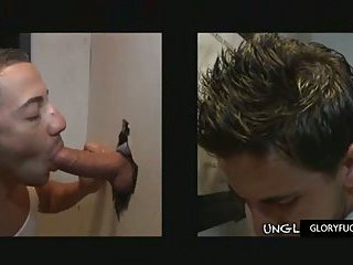 Latin jock guy gets cock sucked