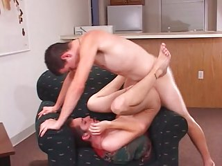 Bareboned twinks fucking after deep throat