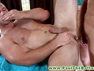 Muscle bottom gets ass pounded and cant get enough