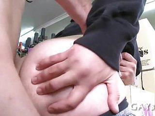 Anal sex after fellatio
