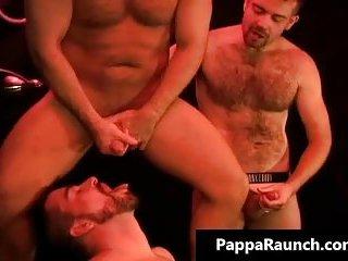 Hard big stiff dick fucking tight gay ass