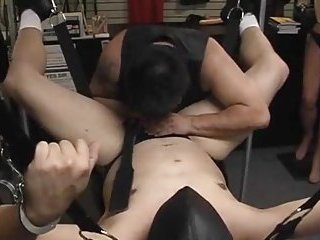 Guy Gets Bondaged & Toyed