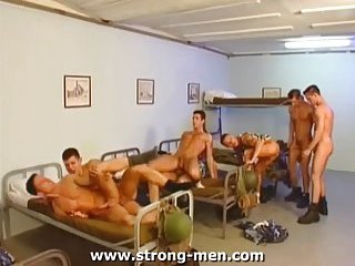 Group sex in army