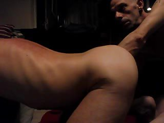 Guy Gets Ass Fisted In Doggy Style