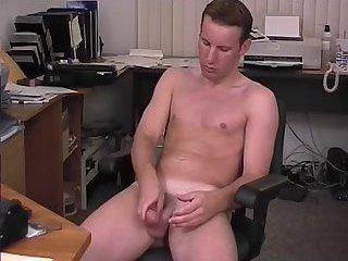 Aroused Guy Solo Masturbation