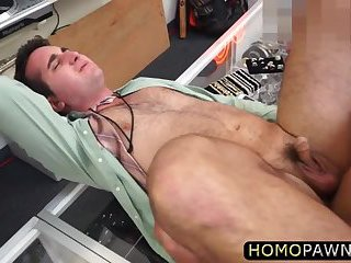 Guy sucks dick and gets fucked hard in the ass for stealing jewelries