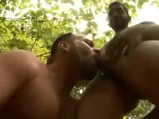 Hot Gay Guys Outdoor Rimming & Fucking