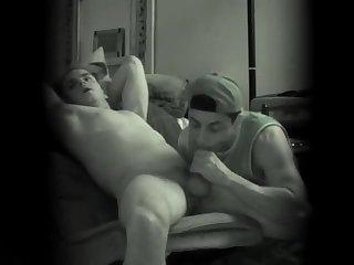 Luscious Dudes Enjoy Blowjob