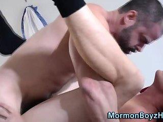 Bishop takes ass offering