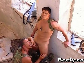 Beefy Handsome Military Awesome Gay Sex