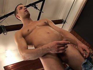 Petr Domas Masturbating